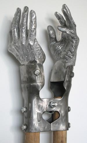 Valerie Raps sculpture.