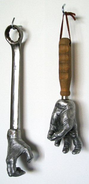Valerie Raps sculpture